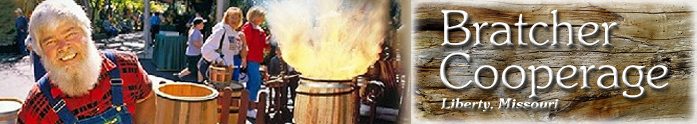 Bratcher Cooperage - Wood Buckets, Well Bucket, Butter Churns, Cutting Boards & Special Orders